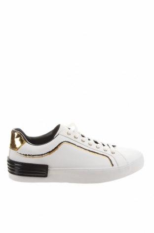 Мъжки обувки Zara, Размер 45, Цвят Бял, Еко кожа, Цена 59,40лв.