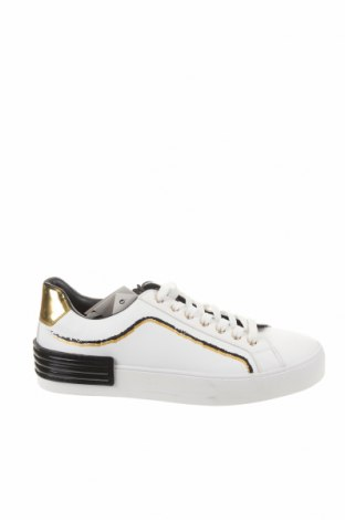Мъжки обувки Zara, Размер 41, Цвят Бял, Еко кожа, Цена 47,40лв.