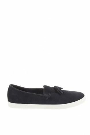 Ανδρικά παπούτσια Zara Man, Μέγεθος 44, Χρώμα Μπλέ, Φυσικό σουέτ, Τιμή 30,67€