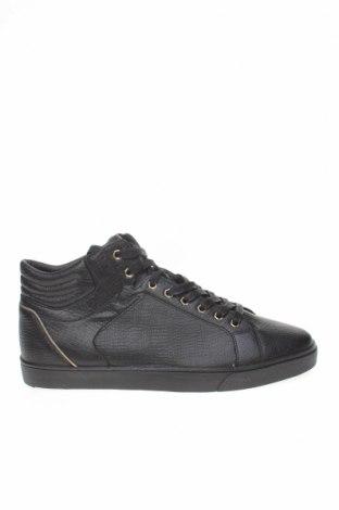 Мъжки обувки Zara Man, Размер 45, Цвят Черен, Еко кожа, Цена 30,26лв.