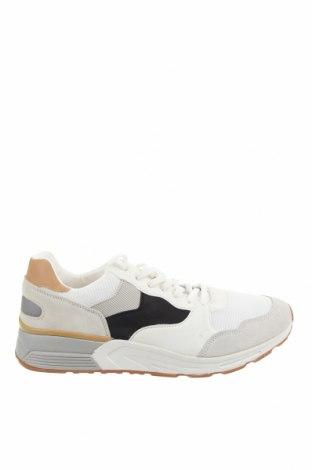 Ανδρικά παπούτσια Zara Man, Μέγεθος 44, Χρώμα Γκρί, Δερματίνη, κλωστοϋφαντουργικά προϊόντα, φυσικό σουέτ, Τιμή 22,02€
