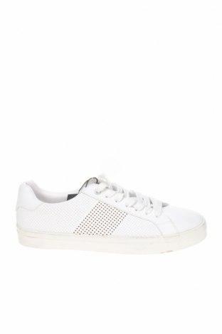 Ανδρικά παπούτσια Zara Man, Μέγεθος 40, Χρώμα Λευκό, Δερματίνη, Τιμή 12,76€