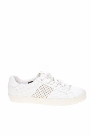 Мъжки обувки Zara Man, Размер 41, Цвят Бял, Еко кожа, Цена 41,25лв.
