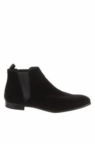 Мъжки обувки Zara, Размер 45, Цвят Черен, Текстил, Цена 30,25лв.