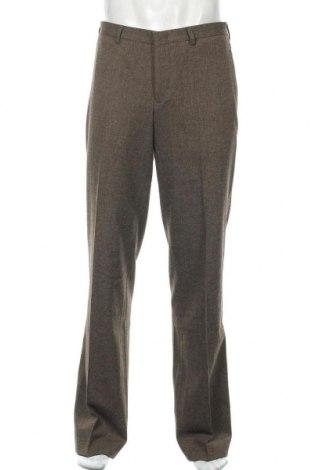 Мъжки панталон Alberto, Размер L, Цвят Кафяв, 68% полиестер, 29% вискоза, 3% еластан, Цена 18,64лв.