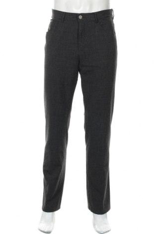 Мъжки панталон Alberto, Размер M, Цвят Сив, 68% полиестер, 29% вискоза, 3% еластан, Цена 12,54лв.
