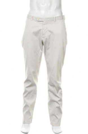 Мъжки панталон Boggi, Размер L, Цвят Екрю, 97% памук, 3% еластан, Цена 36,00лв.