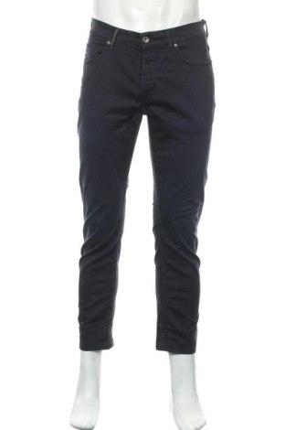 Мъжки панталон Boggi, Размер M, Цвят Син, 98% памук, 2% еластан, Цена 16,58лв.