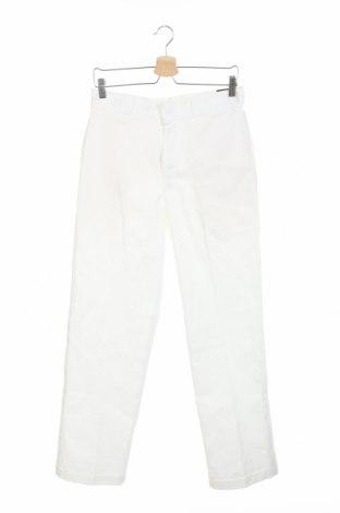 Ανδρικό παντελόνι Dickies, Μέγεθος M, Χρώμα Λευκό, 65% πολυεστέρας, 35% βαμβάκι, Τιμή 26,68€