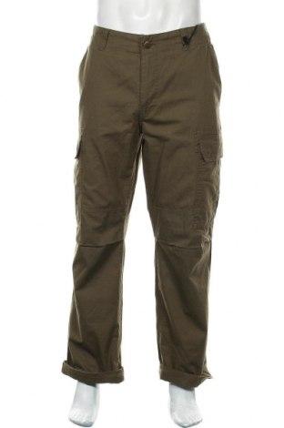 Pantaloni de bărbați Dickies, Mărime L, Culoare Verde, Bumbac, Preț 219,57 Lei