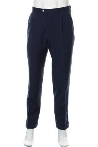 Ανδρικό παντελόνι Ermenegildo Zegna, Μέγεθος M, Χρώμα Μπλέ, Μαλλί, Τιμή 59,23€