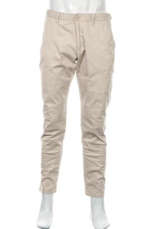 Мъжки панталон Esprit, Размер L, Цвят Бежов, 97% памук, 3% еластан, Цена 25,88лв.