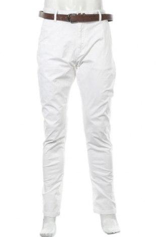 Мъжки панталон Indicode, Размер XL, Цвят Бял, 98% памук, 2% еластан, Цена 40,05лв.