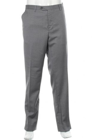 Pánské kalhoty  Massimo Dutti, Velikost XL, Barva Šedá, 100% vlna, Cena  395,00Kč