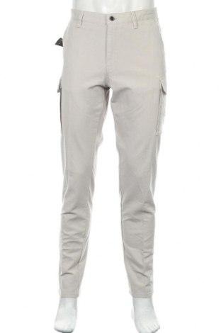 Ανδρικό παντελόνι Massimo Dutti, Μέγεθος L, Χρώμα Γκρί, 98% βαμβάκι, 2% ελαστάνη, Τιμή 21,35€