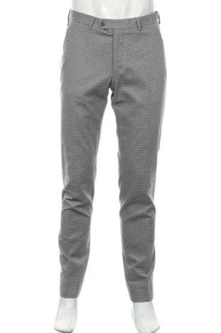 Pantaloni de bărbați Massimo Dutti, Mărime M, Culoare Gri, 95% bumbac, 4% poliamidă, 1% elastan, Preț 61,01 Lei