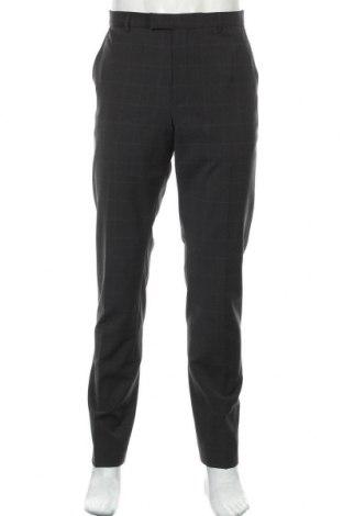 Ανδρικό παντελόνι Strellson, Μέγεθος L, Χρώμα Μαύρο, 54% μαλλί, 42% πολυεστέρας, 4% ελαστάνη, Τιμή 35,79€