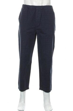 Мъжки панталон Urban Classics, Размер M, Цвят Син, Памук, Цена 7,42лв.