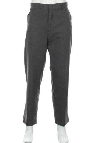 Мъжки панталон Zanetti, Размер L, Цвят Сив, Цена 10,24лв.