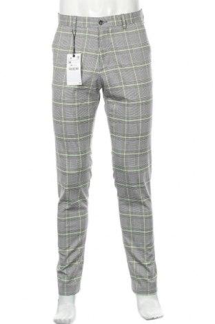 Мъжки панталон Zara, Размер S, Цвят Многоцветен, 66% полиестер, 32% вискоза, 2% еластан, Цена 55,00лв.