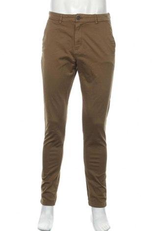Ανδρικό παντελόνι Zara, Μέγεθος S, Χρώμα Καφέ, 97% βαμβάκι, 3% ελαστάνη, Τιμή 8,84€