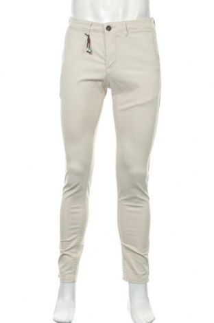 Мъжки панталон Zara Man, Размер M, Цвят Бежов, Цена 10,56лв.