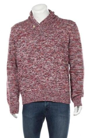 Мъжки пуловер H&M L.O.G.G., Размер XL, Цвят Червен, Цена 16,62лв.