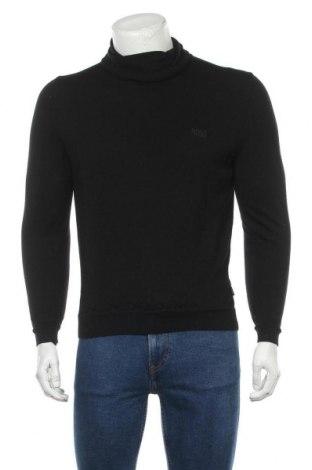 Pulover de bărbați Hugo Boss, Mărime M, Culoare Negru, 100% lână, Preț 270,57 Lei