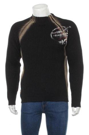 Мъжки пуловер Jack & Jones, Размер L, Цвят Черен, Памук, Цена 16,43лв.