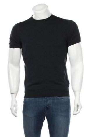 Pánský svetr  Massimo Dutti, Velikost M, Barva Modrá, Bavlna, Cena  687,00Kč