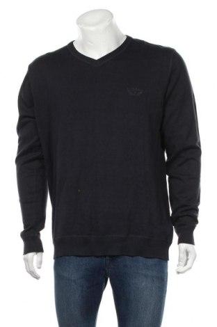 Ανδρικό πουλόβερ Port Louis, Μέγεθος XXL, Χρώμα Μπλέ, 100% βαμβάκι, Τιμή 14,81€