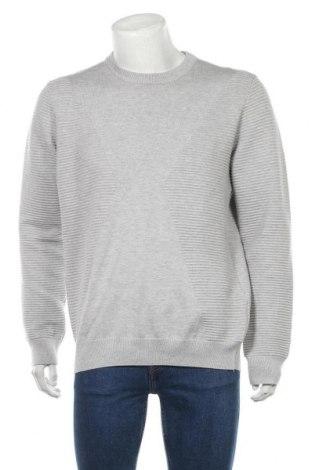 Мъжки пуловер Reserved, Размер L, Цвят Сив, 80% вискоза, 20% полиамид, Цена 12,18лв.