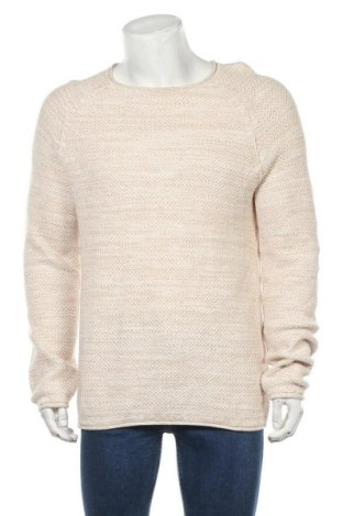Ανδρικό πουλόβερ Review, Μέγεθος XL, Χρώμα  Μπέζ, Βαμβάκι, Τιμή 11,25€