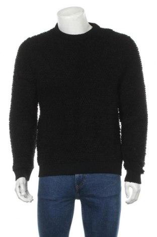 Мъжки пуловер Topman, Размер M, Цвят Черен, 86% акрил, 14% полиамид, Цена 22,25лв.
