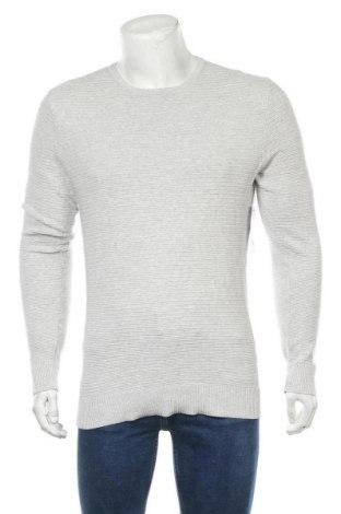 Pulover de bărbați Yd., Mărime XL, Culoare Gri, 80% bumbac, 20% poliamidă, Preț 40,55 Lei