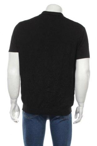 Мъжки пуловер Zara, Размер XL, Цвят Черен, 82% вискоза, 18% полиамид, Цена 31,50лв.