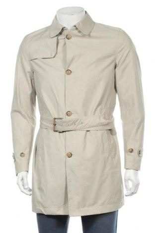 Pánský přechodný kabát  Massimo Dutti, Velikost M, Barva Béžová, 63% bavlna, 37% polyamide, Cena  2165,00Kč