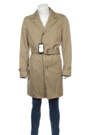 Pánský přechodný kabát  Massimo Dutti, Velikost XXL, Barva Béžová, 69% bavlna, 31% polyamide, Cena  2165,00Kč