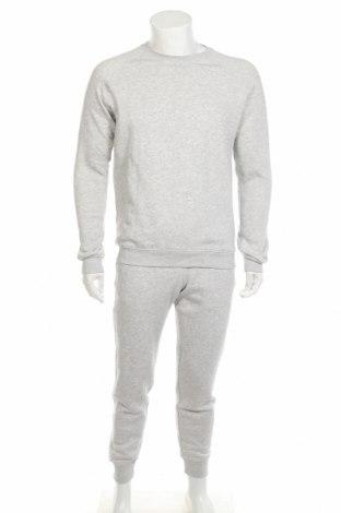 Мъжки спортен комплект Pier One, Размер M, Цвят Сив, 78% памук, 18% полиестер, 4% вискоза, Цена 42,78лв.