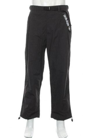 Pantaloni trening de bărbați Adidas Originals, Mărime M, Culoare Negru, Poliamidă, Preț 268,91 Lei