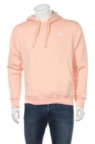 Мъжки суичър Nike, Размер S, Цвят Розов, 80% памук, 20% полиестер, Цена 49,82лв.