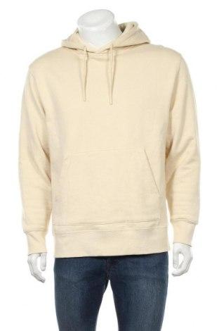 Ανδρικό φούτερ Topman, Μέγεθος M, Χρώμα  Μπέζ, 58% βαμβάκι, 42% πολυεστέρας, Τιμή 21,65€