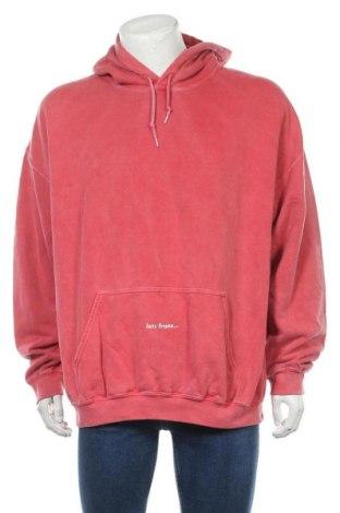 Hanorac de bărbați Urban Outfitters, Mărime L, Culoare Roz, Preț 181,91 Lei