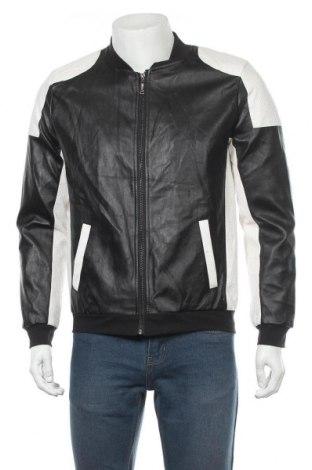 Pánská kožená bunda , Velikost XL, Barva Černá, Eko kůže, Cena  469,00Kč