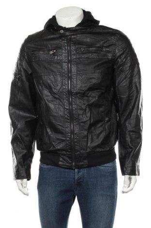 Pánská kožená bunda , Velikost M, Barva Černá, Eko kůže, Cena  503,00Kč