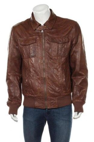 Pánská kožená bunda  Marc O'Polo, Velikost L, Barva Hnědá, Pravá kůže, Cena  1653,00Kč