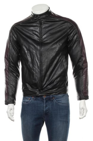 Pánská kožená bunda  Roger David, Velikost S, Barva Černá, Eko kůže, Cena  491,00Kč
