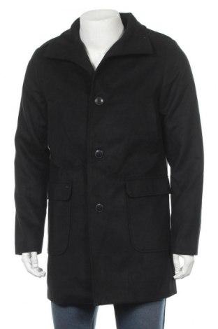 Мъжко палто, Размер M, Цвят Черен, Цена 57,60лв.
