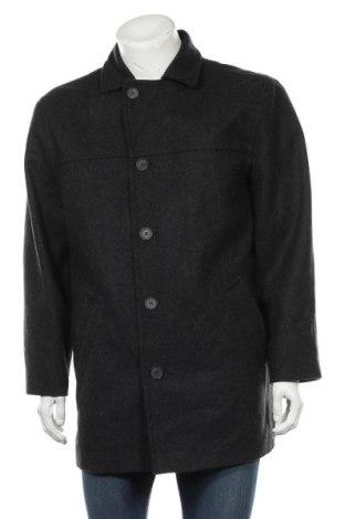 Мъжко палто Biaggini, Размер L, Цвят Сив, 70% вълна, 30% полиестер, Цена 13,65лв.