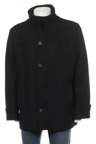Palton de bărbați Canda, Mărime XL, Culoare Negru, 60% lână, 20% poliamidă, 20% viscoză, Preț 71,93 Lei